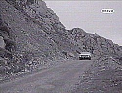 An episode of 'the Saint' tv show in the 1950's included a trip along the Bwlch y Groes, here descending towards Llanuwchllyn, expecting viewers to believe it was on location in Mexico.
