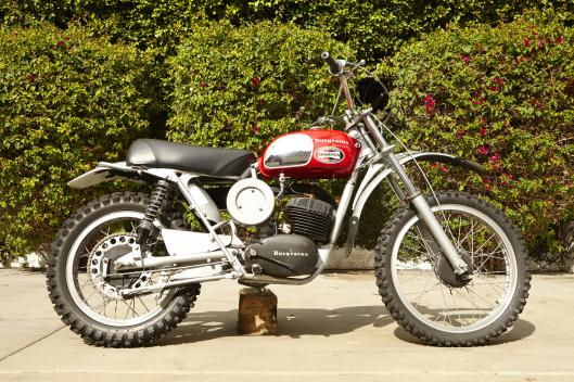 Photo - 1971 Husqvarna 250cc MotoCross that previously was owned by Steve McQueen to be auctioned at Bonham's Las Vegas Sale 8 Jan 2015