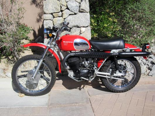 Photo - 1971 Husqvarna 360cc EnduroCross to be auctioned at Bonham's Las Vegas Sale 8 Jan 2015