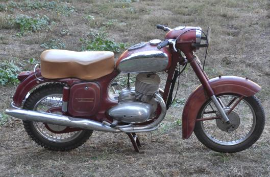 Photo - 1957 Jawa 250 ISDT replica to be auctioned at Bonham's Las Vegas Sale 8 Jan 2015