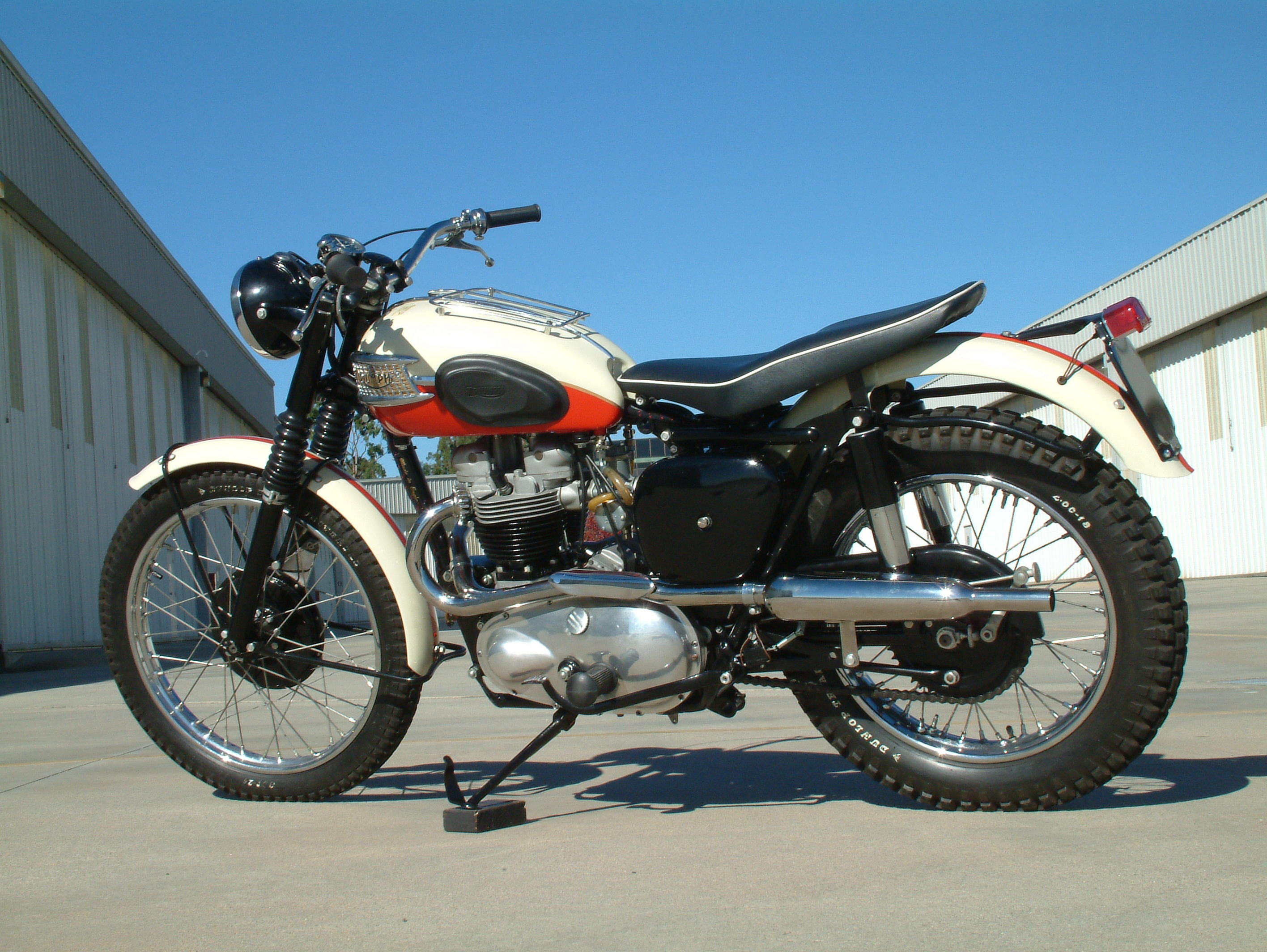 Photo   1957 Triumph Trophy TR6B To Be Auctioned At Bonhamu0027s Las Vegas Sale  8 Jan