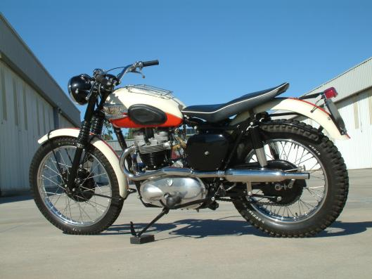 Photo - 1957 Triumph Trophy TR6B to be auctioned at Bonham's Las Vegas Sale 8 Jan 2015