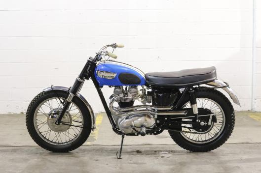 Photo - 1966 Triumph Trophy TR6C 650cc Desert Racer to be auctioned at Bonham's Las Vegas Sale 8 Jan 2015