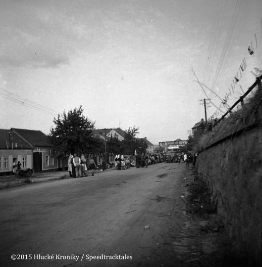 Photo - Hulk time check  ISDT 1953 (©Hluké Kroniky)