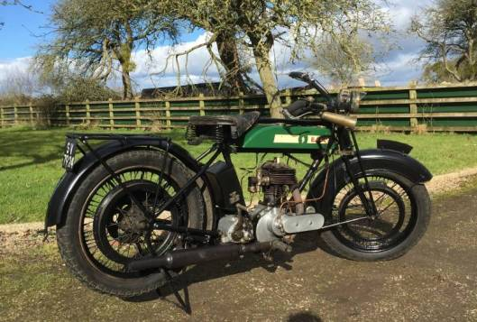 Photo - BSA S26 500cc 4.95Hp 1926 still going and ridden in VMCC Trials similar to the BSA ridden by J B Donaldson 1926