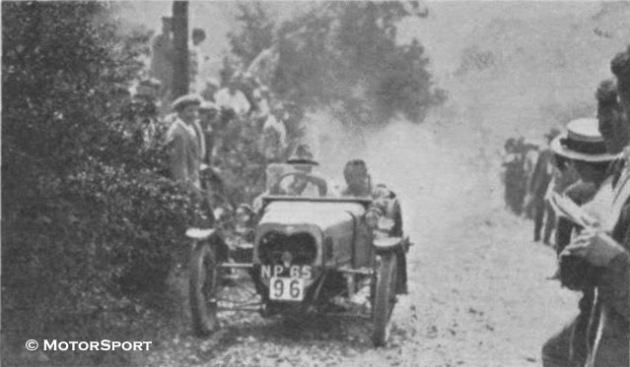 Photo - #96 W Carr ( Morgan does well on Draycott - ISDT 1925 ( Motorsport)