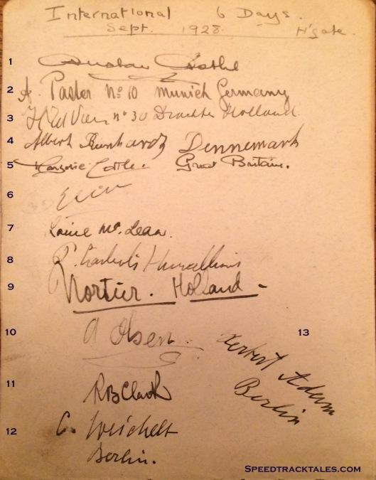 image - event autographs p1 ISDT 1928