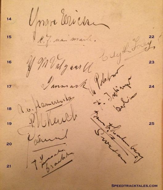 image - event autographs p2 ISDT 1928