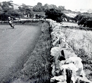Image - road scene from the ISDT 1971