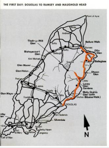 Image - map day 1 route ISDT 1971