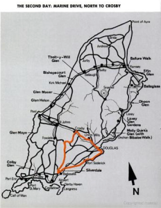 Image - map day 2 route ISDT 1971