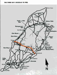 Image - map day 3 route ISDT 1971