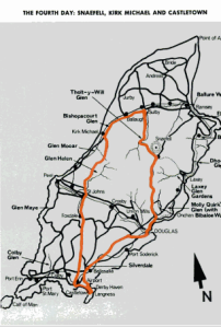 Image - map day 4 route ISDT 1971