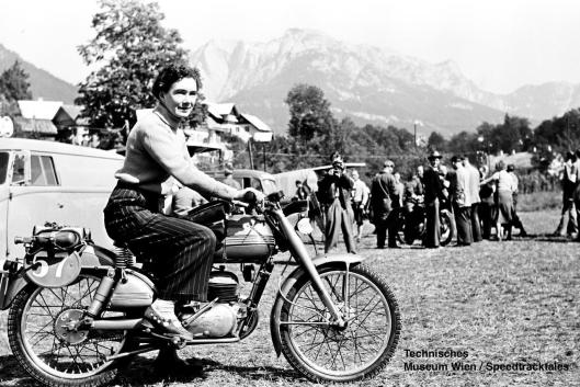 photo - #57 Olga V Kevelos Barilla 100 at the start venue ISDT 1952 (© Technisches Museum Wien - Erwin Jelinek)