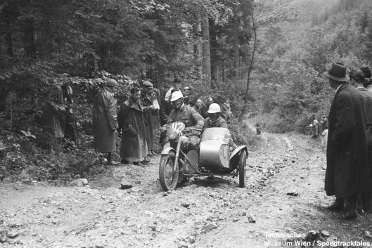 photo - #112 Reg Wagger BSA 646cc S/car ISDT 1952 (© Artur Fenzlau/Technisches Museum Wien)