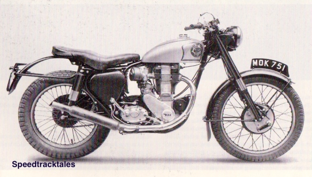Image - BSA B34 Gold Star prepared for the ISDT 1952