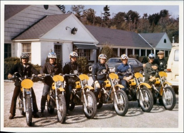 Photo - 1972 Berkshire International Two Day Trial Monark Team (courtesy vintagemonark.com)