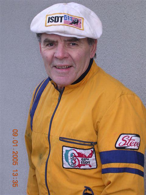 Photo - Steve Tell in 2005 (Courtesy vintagemonark.com)