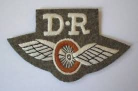 photo - embroidered Dispatch Rider uniform badge