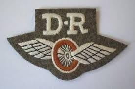 photo - embroidered Dispatch Rider uniform badge