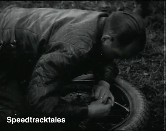 Tyre Change ISDT 1939