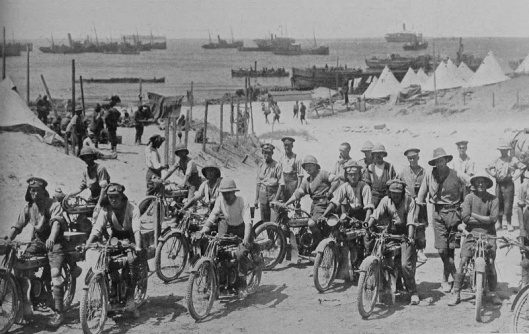 Dispatch riders in Turkey